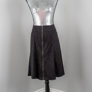 NWT Faith and Joy zipper skirt - M